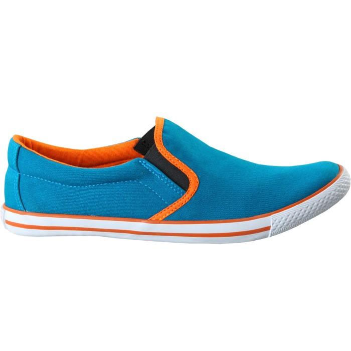 TOUCH - CANVAS -SEA BLUE-ORANGE-601