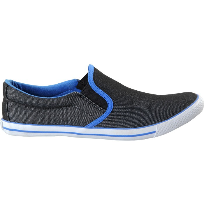 TOUCH - CANVAS -BLACK-R BLUE-601