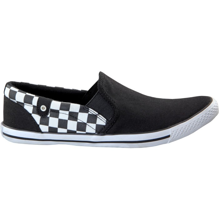 TOUCH - CANVAS -BLACK CHECK-602