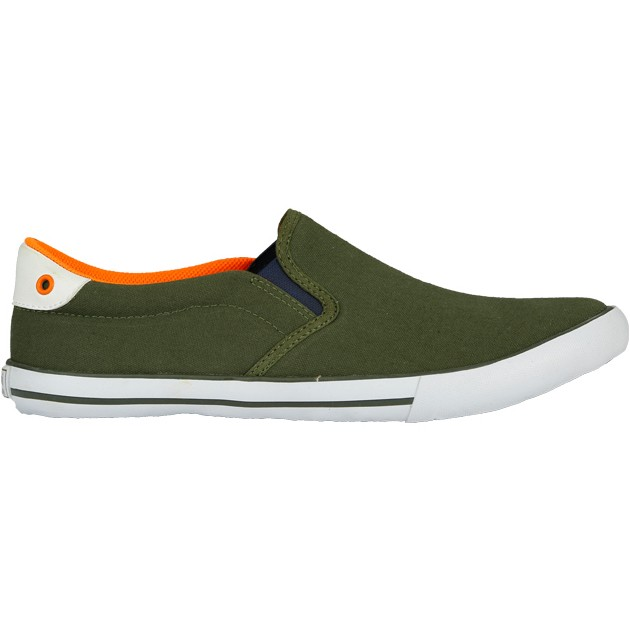 TOUCH - CANVAS -OLIVE-ORANGE-617
