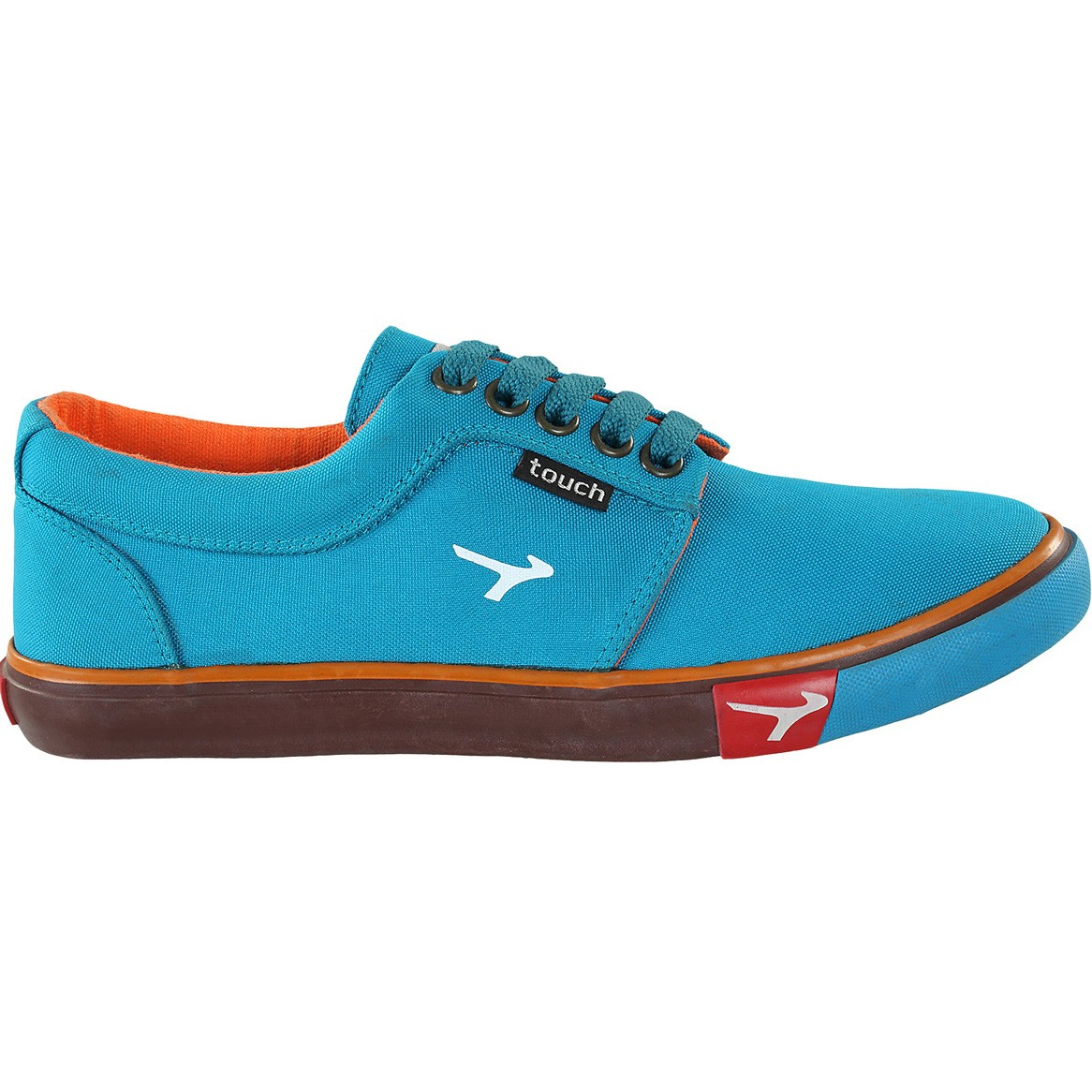 TOUCH CANVAS (M)-375-SEA GREEN/ORANGE