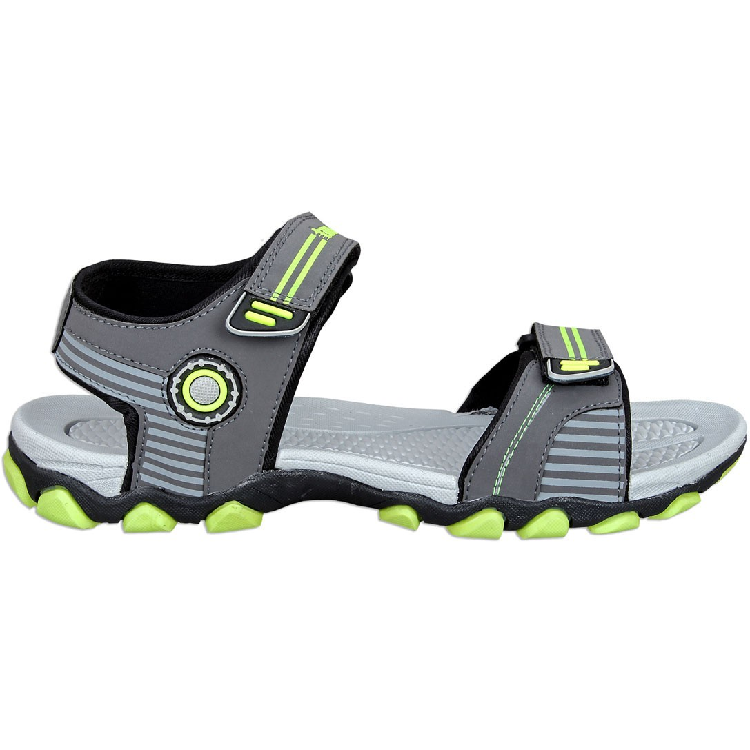Touch P Sandal 1001 D Grey-F Green