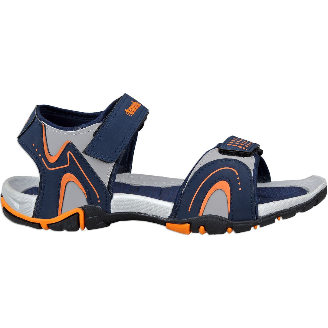 Touch P Sandal 1014 Blue-Grey-Orange