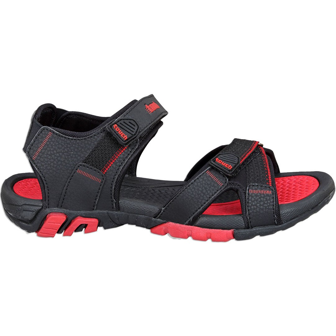 Touch P Sandal 1019 Blk-Red