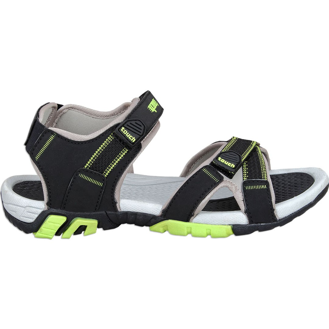 Touch P Sandal 1019 Blk-F Green