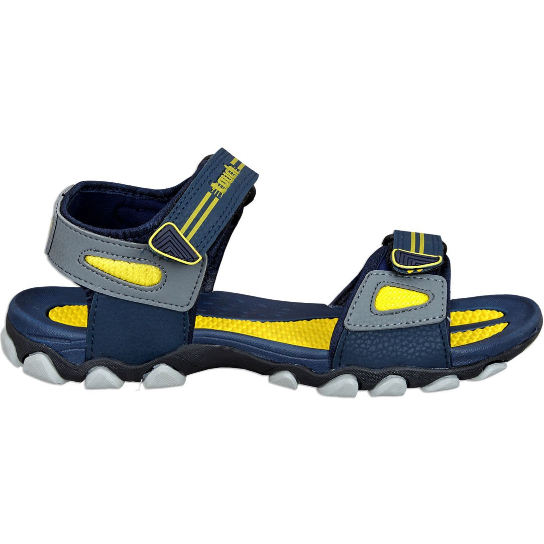 Touch P Sandal 1020 Navy-Yellow