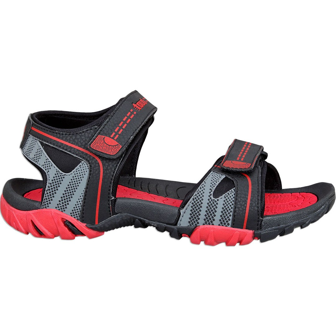 Touch P Sandal 1022 Blk-Red