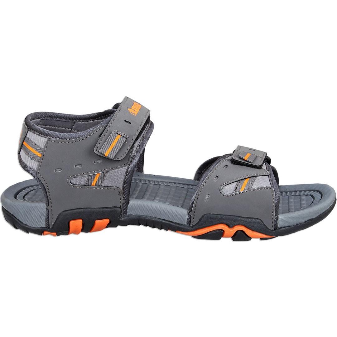 Touch P Sandal 1026 D Grey-Orange