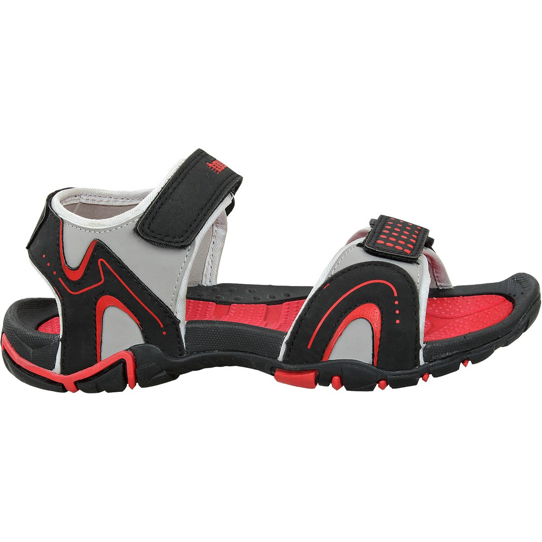Touch Sandle-1014-Black/Red