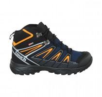 Touch-Boot-017-Black/Navy Blue/Orange