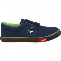 TOUCH CANVAS (M)-375-NAVY/F.GREEN