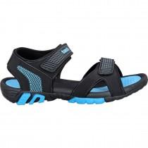 Touch P Sandal 1024 Blk-Sky Blue