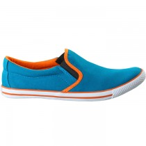 TOUCH - CANVAS -SEA BLUE-ORANGE-601