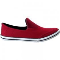 TOUCH - CANVAS -BURGUNDY-BLACK-609