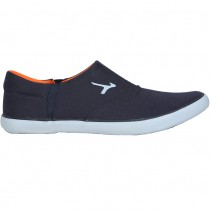 TOUCH - CANVAS -NAVY BLUE-ORANGE-610