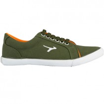 TOUCH - CANVAS -OLIVE-ORANGE-619