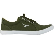 TOUCH - CANVAS -OLIVE-BEIGE-619