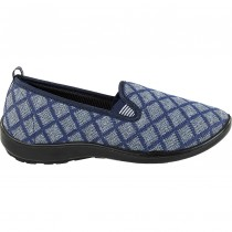 MADAM LIZA-PU-219-NAVY GREY
