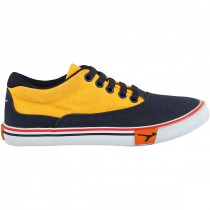 TOUCH CANVAS (M)-322-NAVY/YELLOW