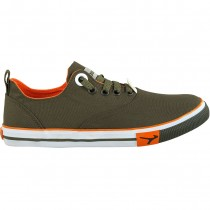 TOUCH CANVAS (M)-392-OLIVE/ORANGE