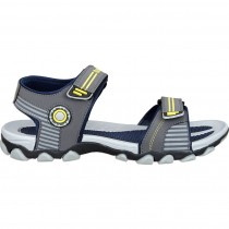 Touch P Sandal 1001 D Grey-Yellow