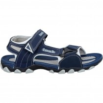 Touch P Sandal 1002 Navy-Lt Grey