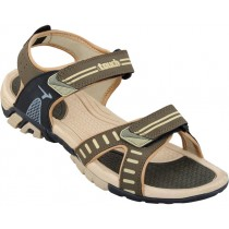 Touch P Sandal 1004 Olive-Beige