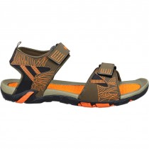 Touch P Sandal 1009 Olive-Orange