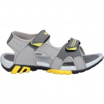 Touch P Sandal 1010 Lt Grey-D Grey-Yellow