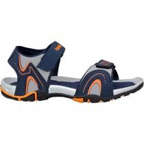 Touch P Sandal 1014 Blue-Grey-Orange