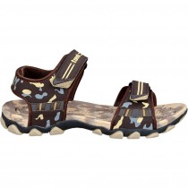 Touch P Sandal 1015 Brown-Beige