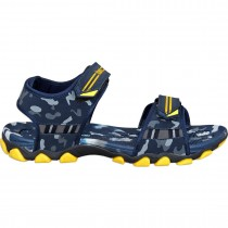 Touch P Sandal 1015 Navy-Yellow