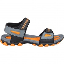 Touch P Sandal 1020 Grey-Orange