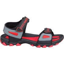 Touch P Sandal 1020 Blk-Red