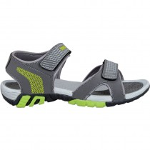 Touch P Sandal 1024 D Grey-F Green
