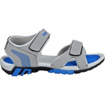 Touch P Sandal 1024 Lt Grey-R Blue