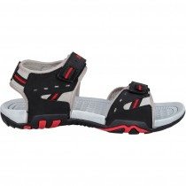 Touch P Sandal 1026 Grey-Blk-Red