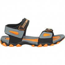 Touch Sandle-1020-Dark Grey/Orange