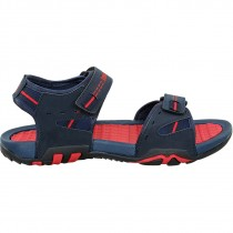 Touch Sandle-1026-Navy/Red