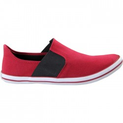 TOUCH - CANVAS -BURGUNDY-BLACK-603